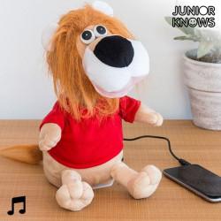 Dancer Stuffed Lion with Speaker
