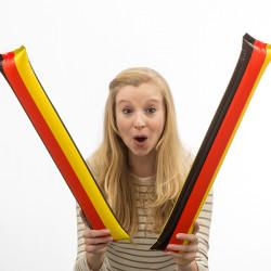 Klatschstangen mit Deutschland-Flagge