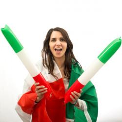 Applauditori Bandiera d'Italia