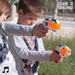Pistola Espacial con Luces y Sonido Junior Knows