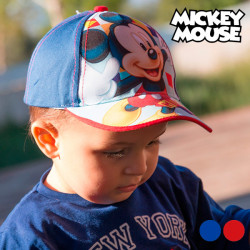 Mickey Mouse Kinder-Kappe Rot