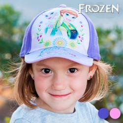 Gorra Infantil Frozen Morado
