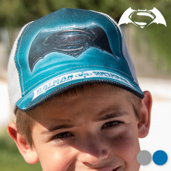 "Gorra Infantil Batman vs Superman ""Azul Marino"""