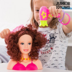 Doll for Hairstyling with Accessories