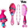 Set di Bellezza per Bambine Trolls Spazzola+Pettine Viola