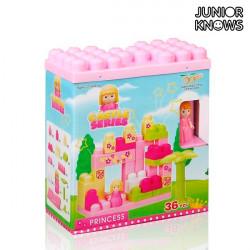 Jeu de Blocs de Construction Castle (36 pièces)