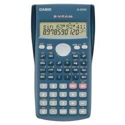 Casio FX-82MS calculatrice Bureau Calculatrice scientifique Bleu
