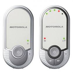 Motorola MBP11 Babyfon Silber, Weiß