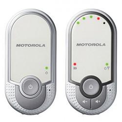 Motorola MBP11 intercomunicador para bebé Prateado, Branco