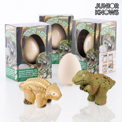 Junior Knows Egg with Little Dinosaur
