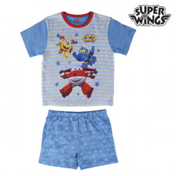 """Pijama de Verão para Meninos Super Wings """"4 anos"""""""