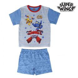 """Pijama de Verão para Meninos Super Wings """"5 anos"""""""
