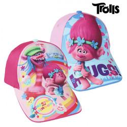 Trolls Gorra Infantil (53 cm) Fucsia