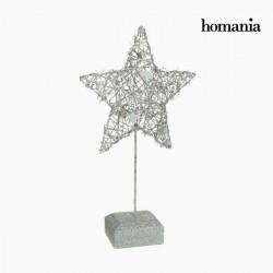 Figura Decorativa Estrella Plata by Homania