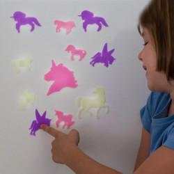 Junior Knows Fluorescent Unicorns (14 pieces)