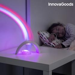 Projecteur LED pour Enfant Arc-en ciel InnovaGoods