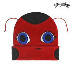 Lady Bug Gorro Infantil con Antenas 628