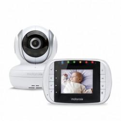 Babyphone mit Kamera Motorola 223419 2,8 2.4GHz Weiß