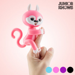 Junior Knows Interactive Squirrel with Sound and Movement Black