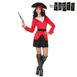 Disfraz para Adultos 6225 Pirata mujer (4 Pcs)