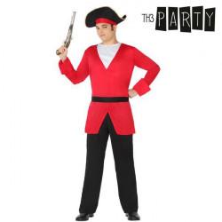 Disfraz para Adultos 6263 Pirata hombre (4 Pcs)