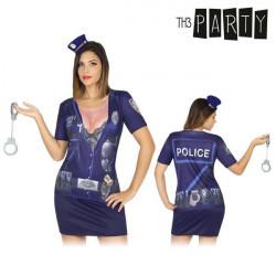Maglia per adulti Th3 Party 6528 Poliziotta
