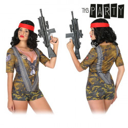 T-shirt pour adultes Th3 Party 6535 Femme soldat