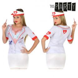 Camisola para adultos Th3 Party 6542 Enfemeira sangrenta