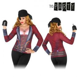 Camiseta para adultos 6702 Pirata mujer