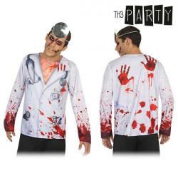 T-shirt pour adultes Th3 Party 6986 Médecin mort