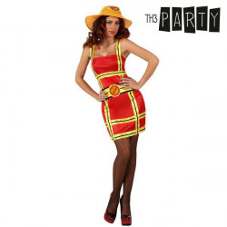 Costume for Adults Th3 Party 2526 Firewoman