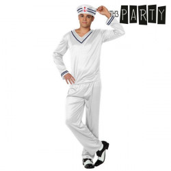 Costume for Adults Th3 Party Sailor White M/L