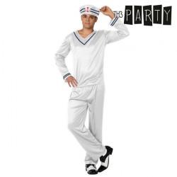 Costume per Adulti Th3 Party Marinaio Bianco M/L