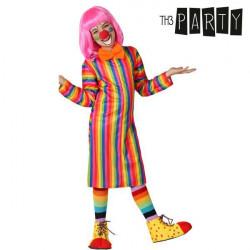 Costume per Bambini Th3 Party Pagliaccio donna 3-4 Anni