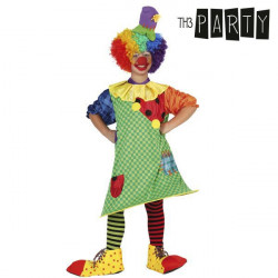 """Costume for Children Th3 Party Female clown """"3-4 Years"""""""
