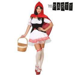 Costume per Adulti Th3 Party Cappuccetto rosso sexy XL