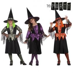 Costume per Bambini Th3 Party Strega 7-9 Anni