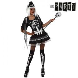 Fantasia para Adultos Th3 Party Esqueleto sexy XS/S
