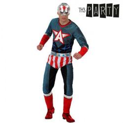 Verkleidung für Erwachsene Th3 Party Superheld XS/S