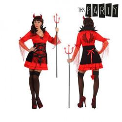 Costume per Adulti Th3 Party Demonio donna sexy M/L