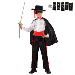Costume per Bambini Th3 Party Zorro 5-6 Anni