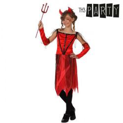 Costume per Bambini Th3 Party Diavolo donna 5-6 Anni
