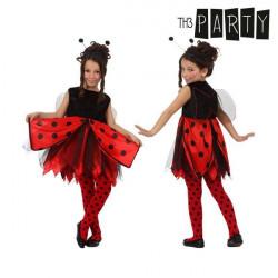 Costume per Bambini Th3 Party Coccinella 10-12 Anni