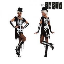 Fantasia para Adultos Th3 Party Esqueleto XS/S