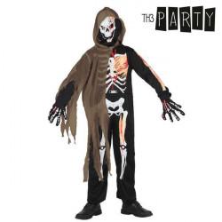 Fantasia para Crianças Th3 Party Esqueleto 7-9 Anos