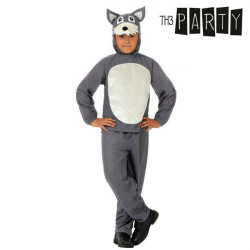 """Costume for Children Th3 Party Ferocious wolf """"3-4 Years"""""""