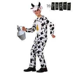 Costume per Bambini Th3 Party Mucca 5-6 Anni