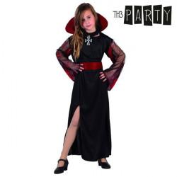 Costume per Bambini Th3 Party Vampiro donna 10-12 Anni