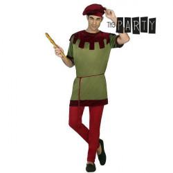 Costume per Adulti Th3 Party 6391 Componentes:PANTALÓN CAMISA SOMBRERO CINTURÓN Giullare