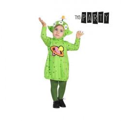 Costume per Neonati Alien Verde 0-6 Mesi